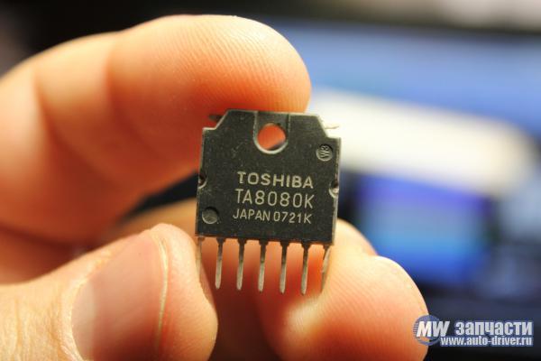 электронные компоненты, Микросхема TA8080K