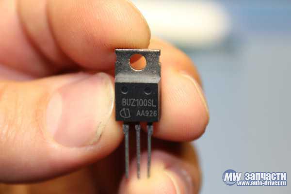электронные компоненты, Транзистор BUZ100SL