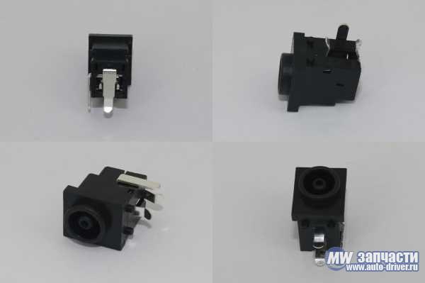 электронные компоненты, Разъем 2DC-A243-001 (PJ-4)