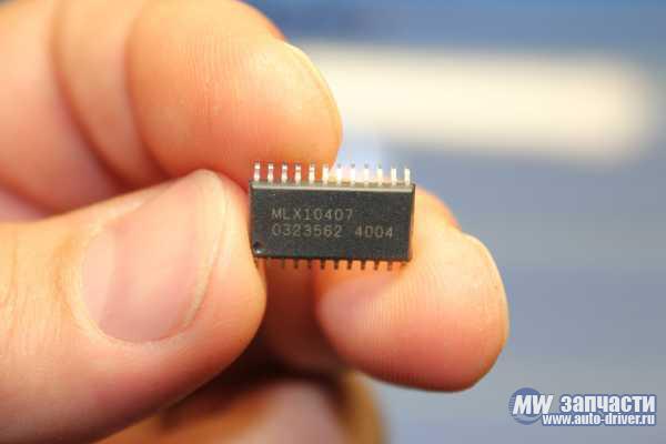 электронные компоненты, Микросхема MLX10407