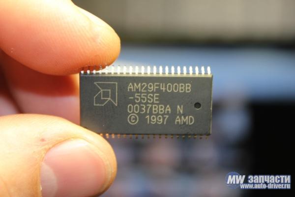 электронные компоненты, Микросхема AM29F400BB-55SE