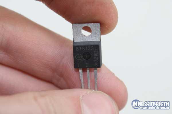 электронные компоненты,  Микросхема BTS133