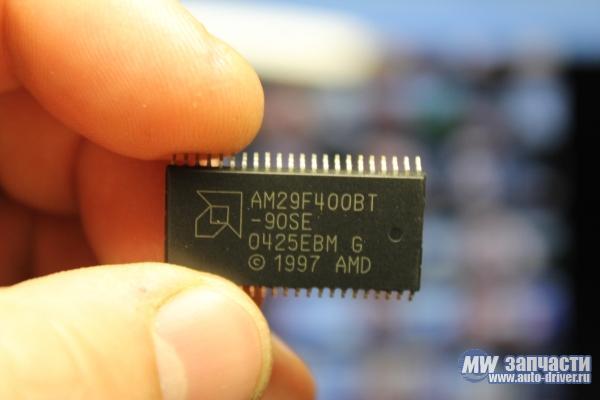 электронные компоненты, Микросхема AM29F400BT-90SE