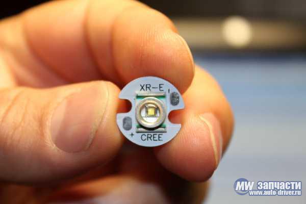 электронные компоненты, Светодиод Cree XR-E 16 мм