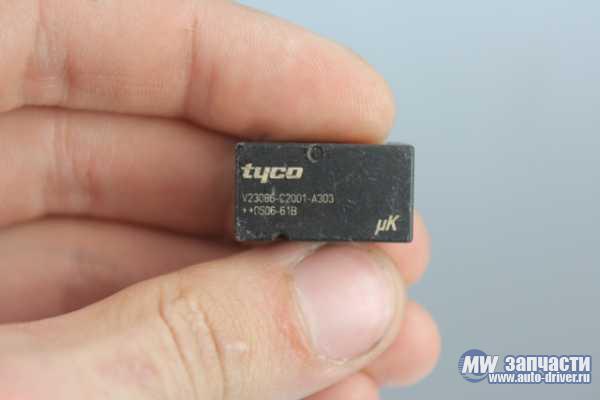 электронные компоненты, Реле V23086-C2001-A303