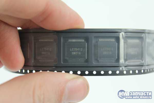 электронные компоненты, Микросхема LC75412